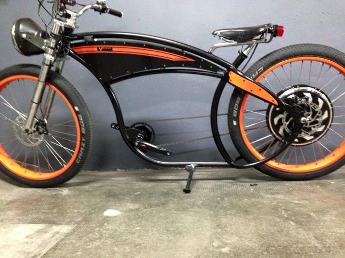 ocobike custom e bike ocobike beach cruiser v lo shop neuchatel lowriders bikes choppers. Black Bedroom Furniture Sets. Home Design Ideas