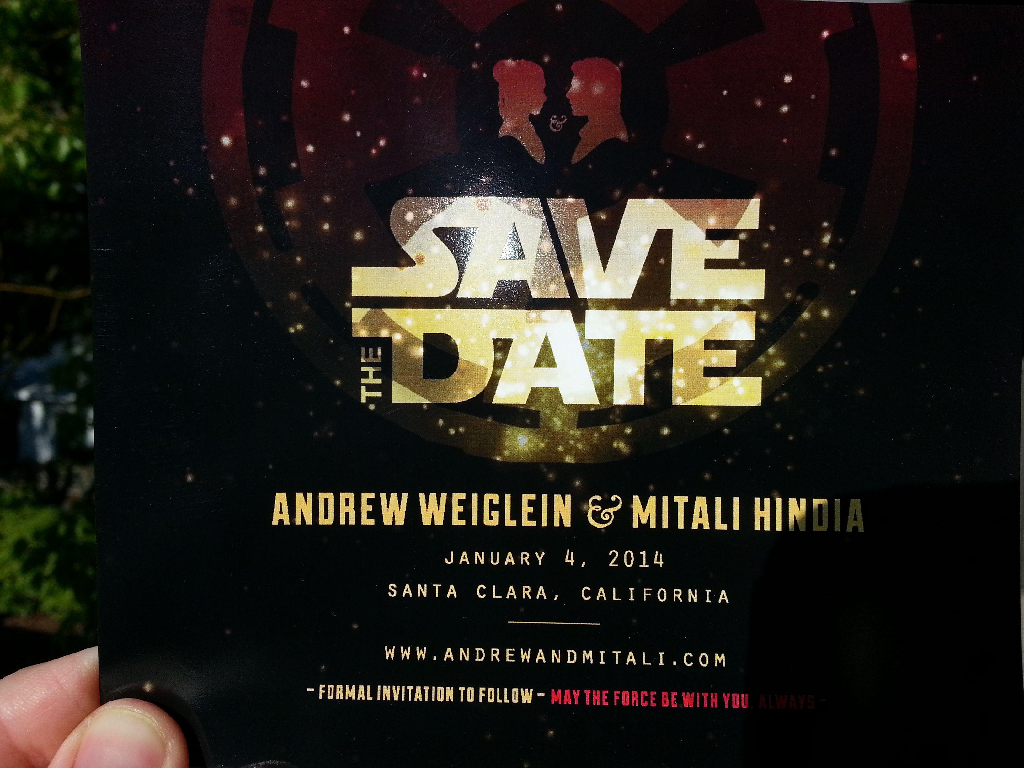 star wars wedding invitation template Google Search – Halloween Wedding Save the Dates