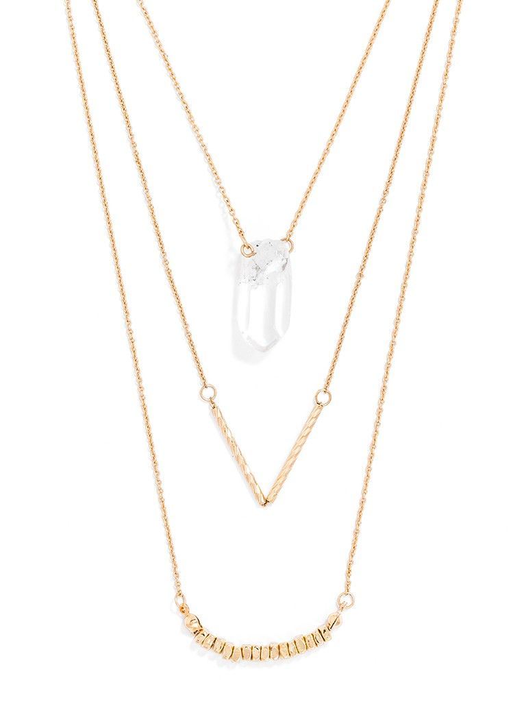 banana zoom necklace to chain sparkle me tiered sale it republic shop