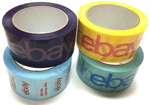 Branded Packing Packaging Shipping Tape BOPP 2 Rolls 75 Yards 2Mil Thick