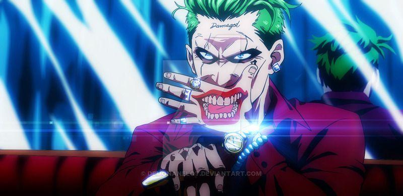 Smile for Uncle Joker by DEMONAnelot.deviantart.com on @DeviantArt   I'd watch that anime.