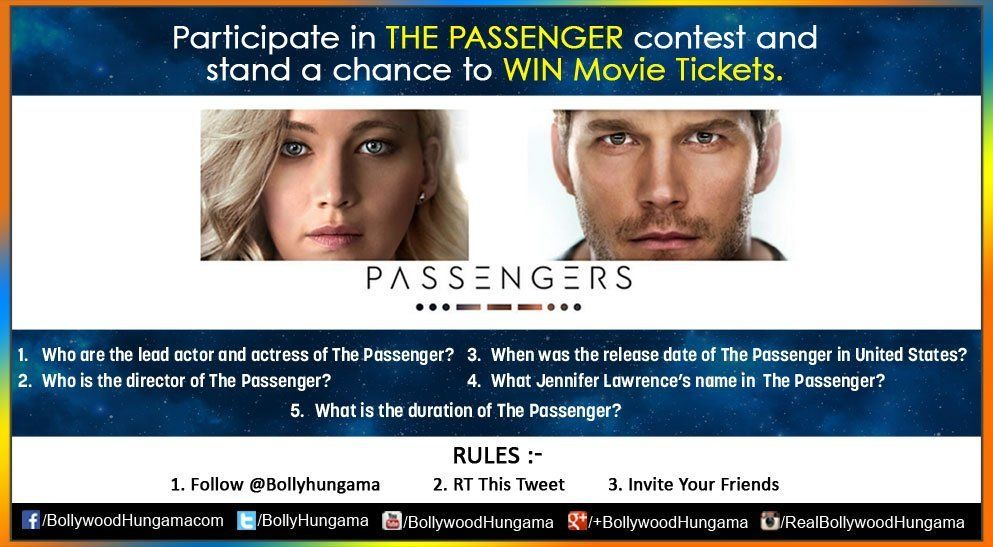 Bollyhungama : Participate in #ThePassenger contest and stand a chance to WIN Movie Ticket https://t.co/qC55RP8Fs3) https://t.co/gVYPQCOGXs