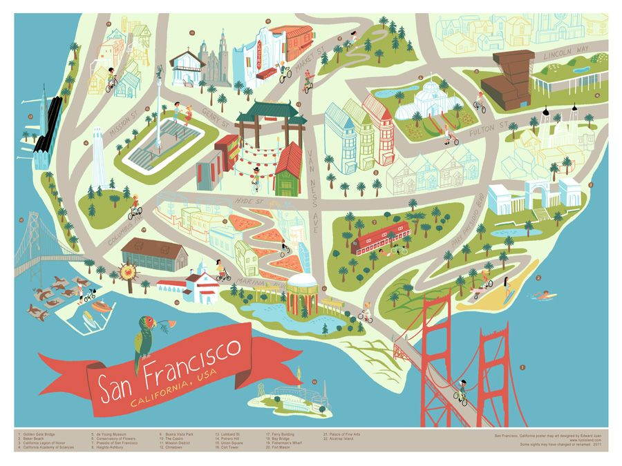 If youve lived here for a while the geography of San Francisco