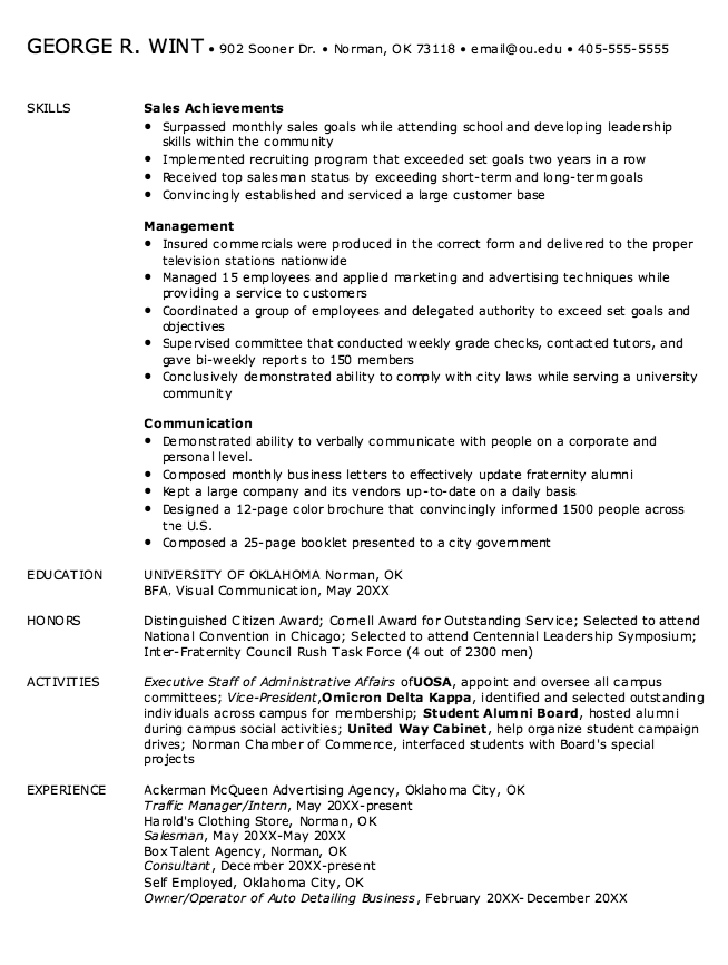 Sales Skills For Resume Example Of Sales Skills Resume  Httpexampleresumecvexample .
