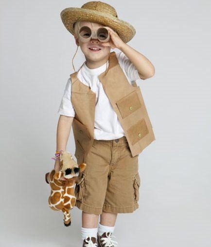 disfraz de explorador casero  b62b4b34a25