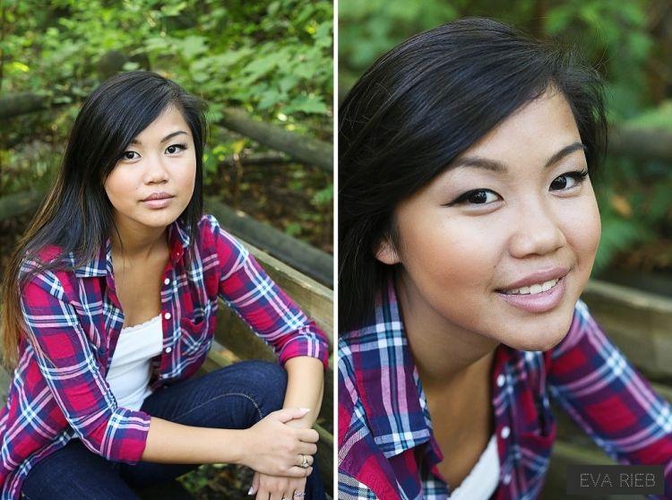 Senior Portrait Session - Carkeek Park - Eva Rieb Photography - Seattle Photographer