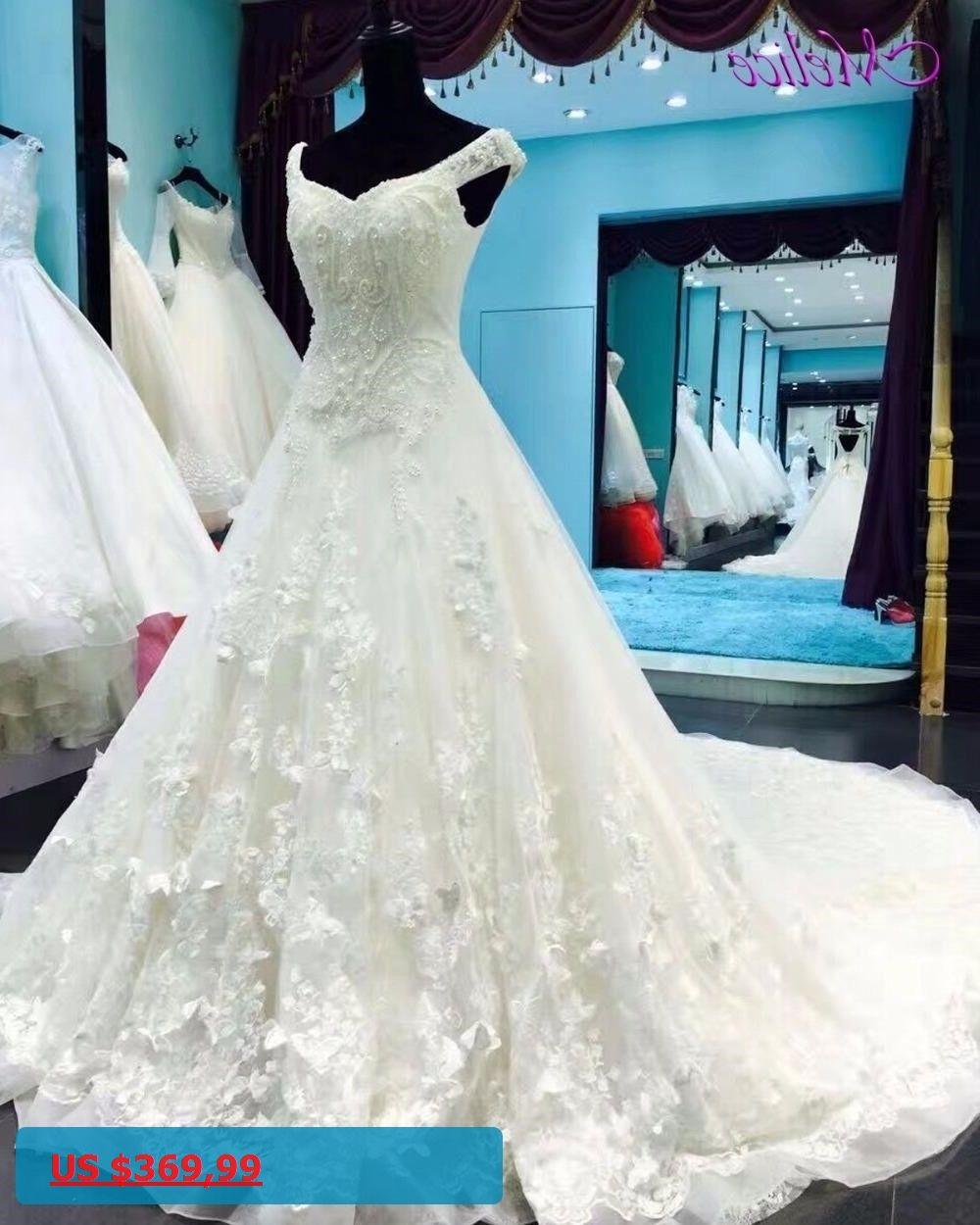 Melice Robe De Mariage Sweetheart Neck Backless Princess Wedding ...