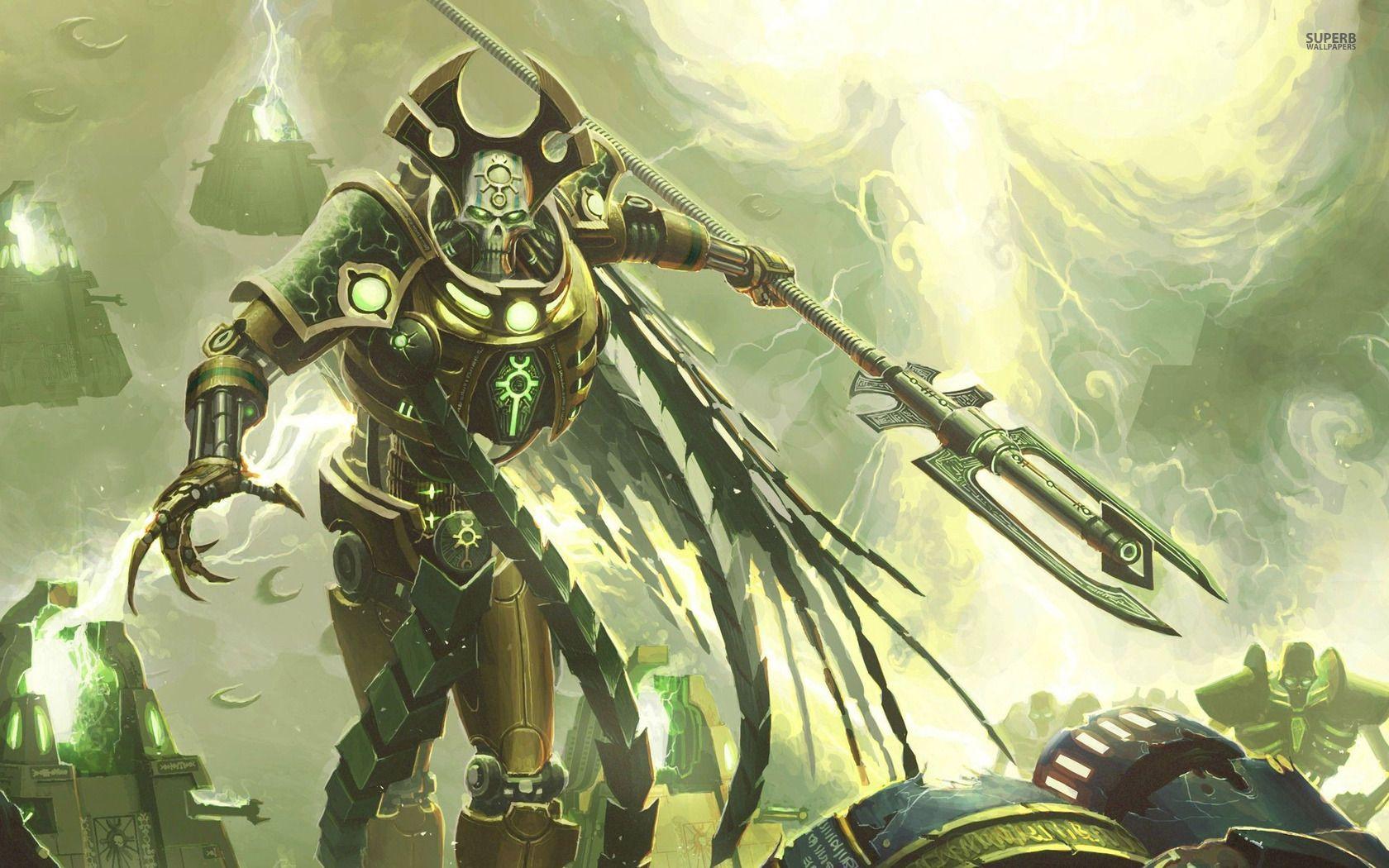 Necrons Necron Warhammer Warhammer 40k