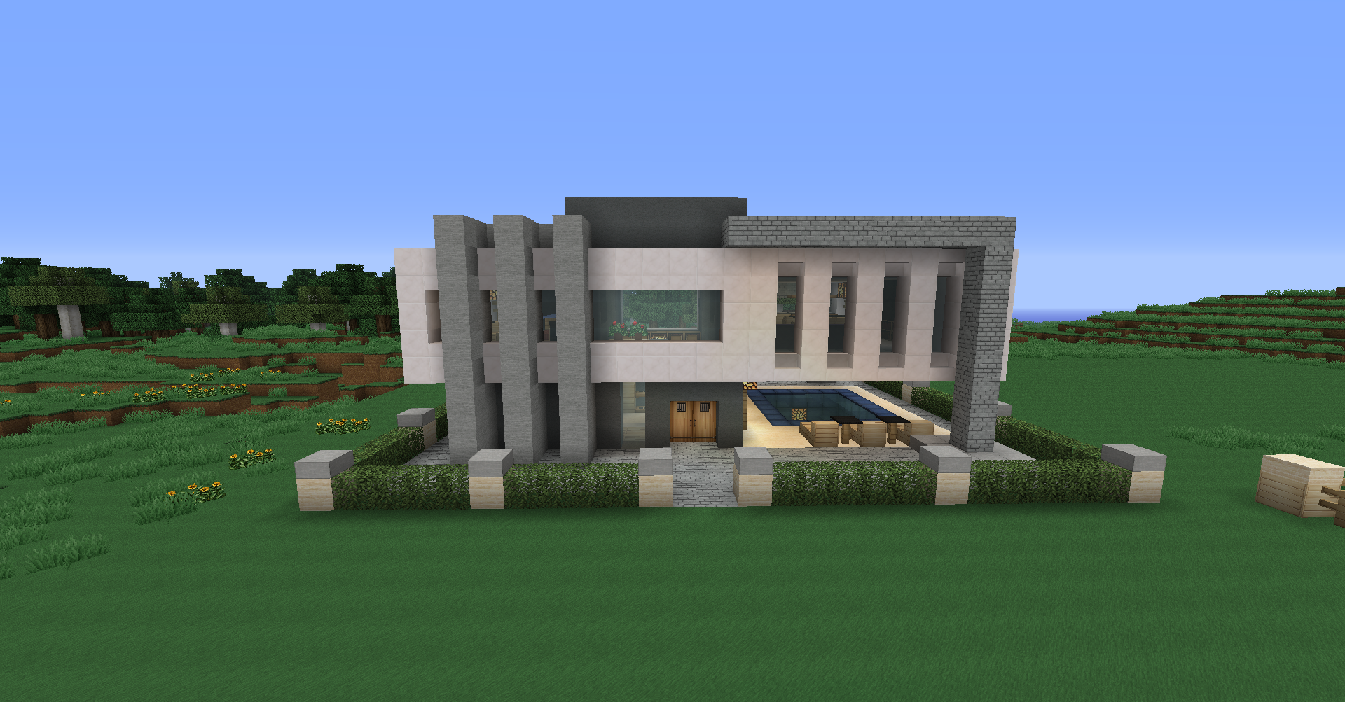 minecraft superb house wallpaper download minecraft superb house