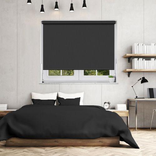 Blackout Bedroom Blinds Inspiration Ex Lite Black Blackout Blind  Blackout Blinds And Bedrooms Design Decoration