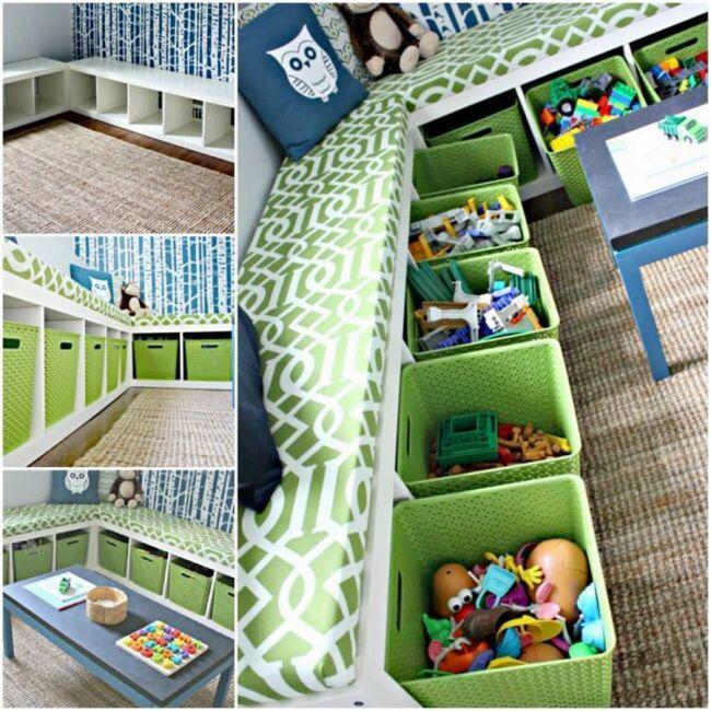 Pin Di Norita Su Home Baby Room Organizzazione Stanza Dei Giochi Camere Da Letto Piccolissime Stanza Dei Giochi