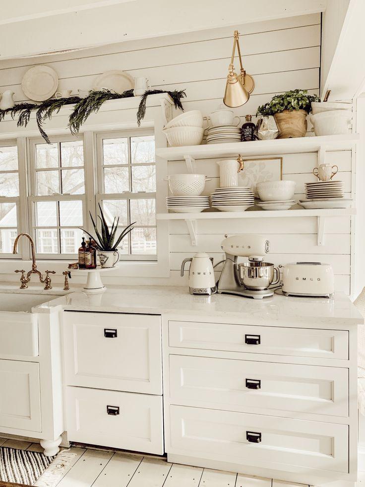 Winter Farmhouse Kitchen