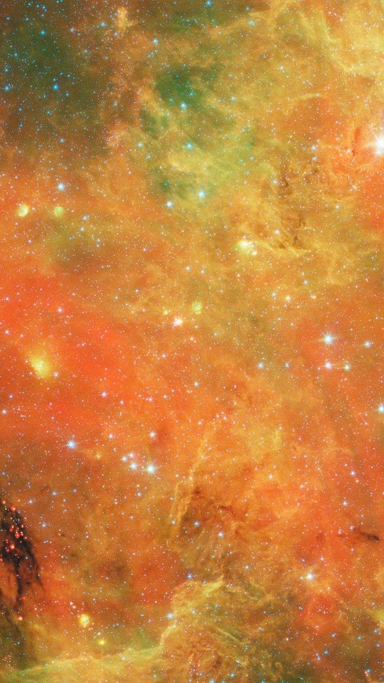 Orange Nebula Deep Space Hd Wallpaper Galaxy Wallpaper Galaxy Background Nebula Wallpaper