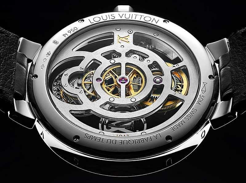 "Louis Vuitton lança o relógio ""Tambour Moon Flying Tourbillon Poinçon De Genève""   WEB LUXO"