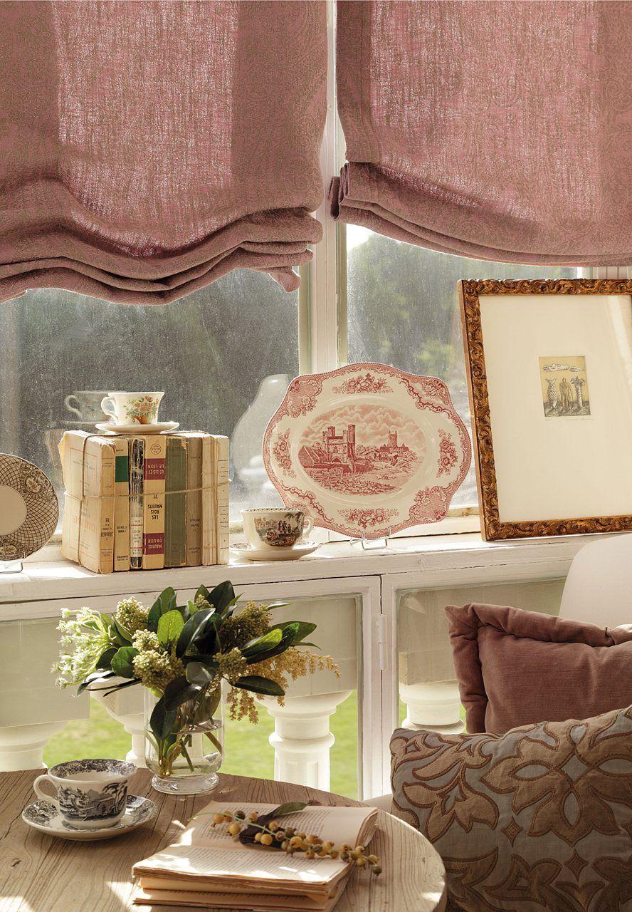 Renueva tu sal n al ritmo de las estaciones decora pinterest - Visillos para salones ...
