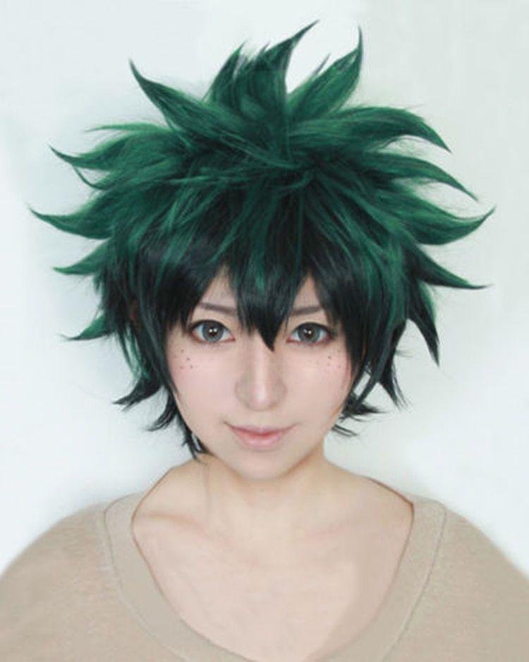Cap Track My Boku no Hero Academia Midoriya Izuku costume Cosplay Wig