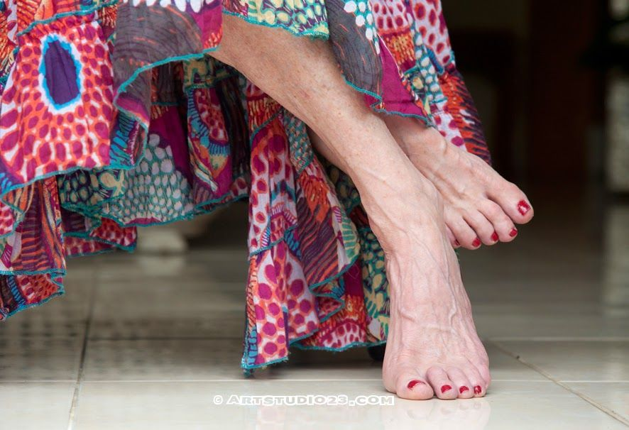 Berys beautiful feet - #bali #retreat www.mery.nl #ballet #dancer