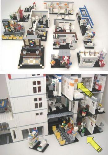 Lego Hospital Mercy General Teil II Eine LEGO Kreation von LG Orlando MOC Lego Hospital Mercy General Teil II Eine LEGO Kreation von LG Orlando MOCpag   Its a small world...