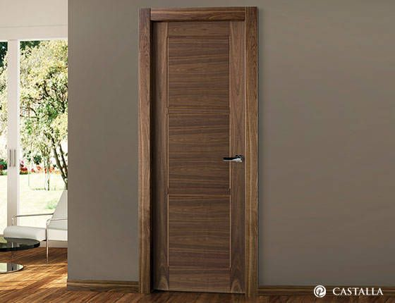 Serie euro puerta interior zircon puertas interiores for Puertas blancas dobles