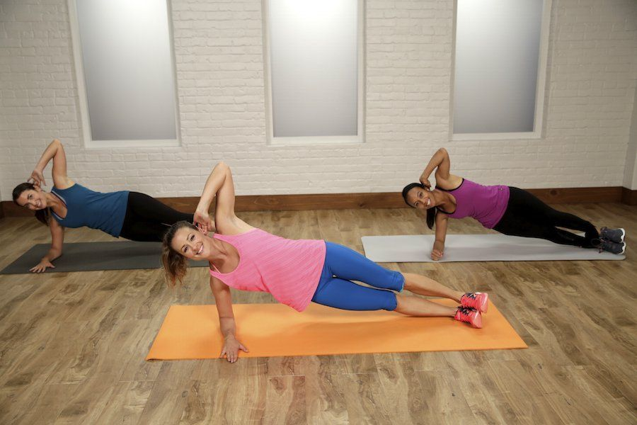 The Ultimate Flat-Belly Workout: This flat-belly workout will tone your abs from…