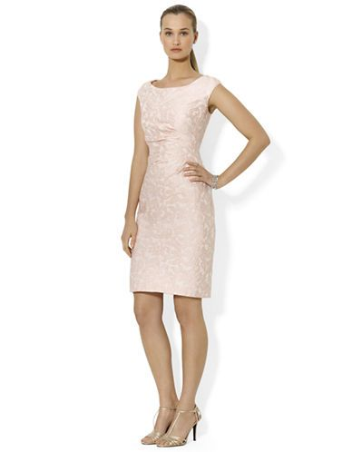 Women S Clothing Party Cocktail Cap Sleeved Jacquard Dress