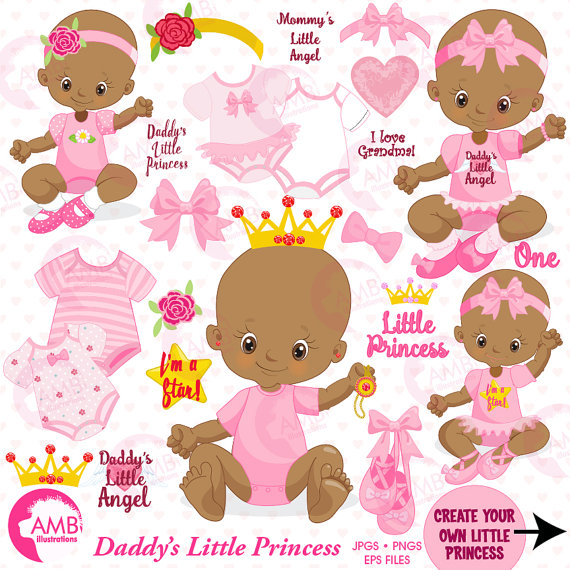 baby girl clipart african american little princess clipart create rh pinterest co uk african american baby girl clipart african american baby clipart free