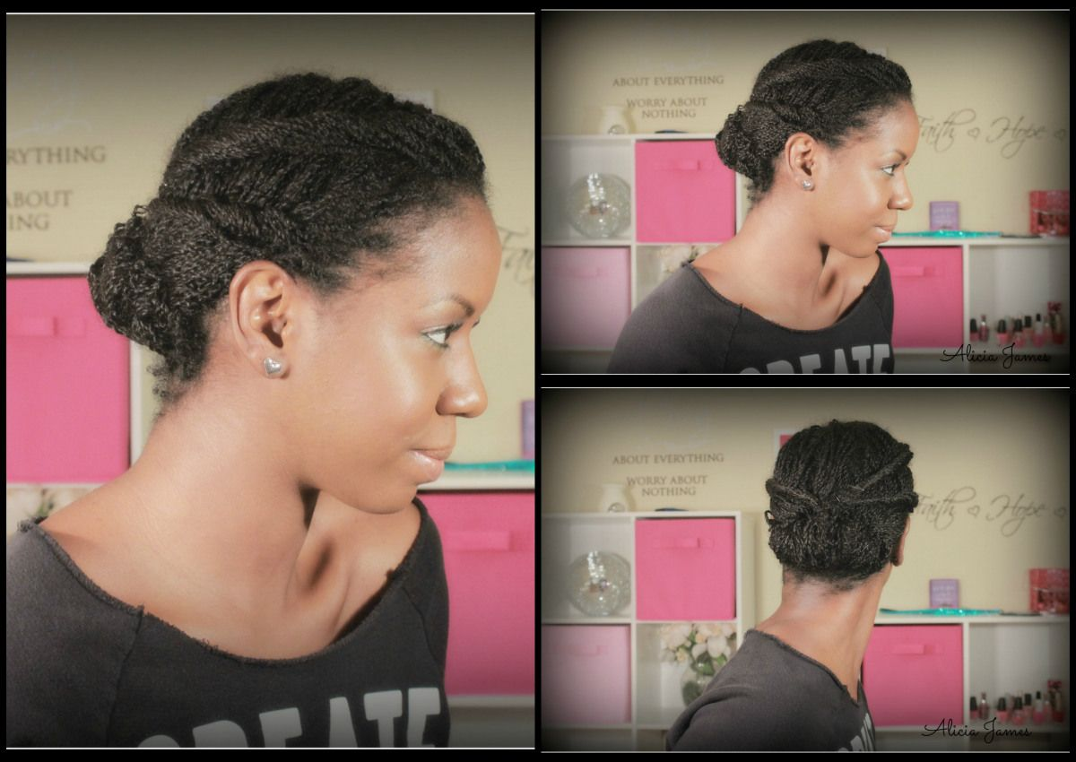 Two Strand Twist Pin Up Two Strand Twist Updo Natural Hairstyles