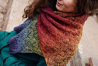 Photo of Rainbow Lace Scarf