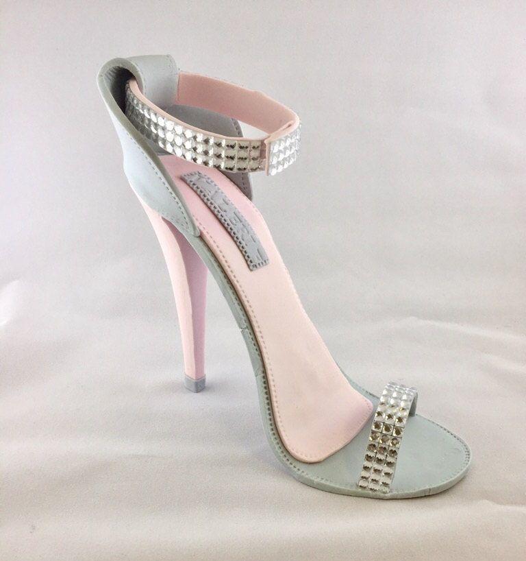 d1780047a3fb0 Fondant High Heel Shoe/ Cake Topper//sugar shoes//fondant shoe//high ...