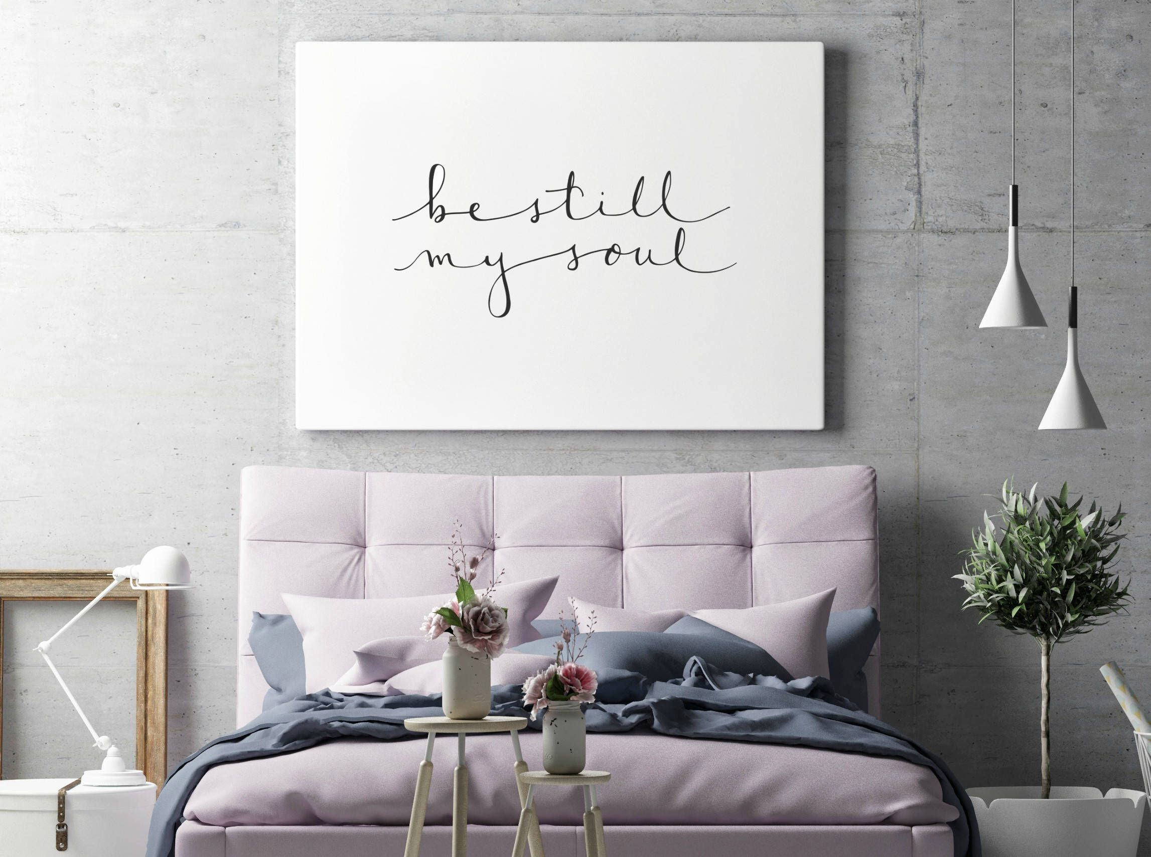 Be still my soul print home decor wall art hand lettered be still my soul print home decor wall art hand lettered minimalist amipublicfo Choice Image