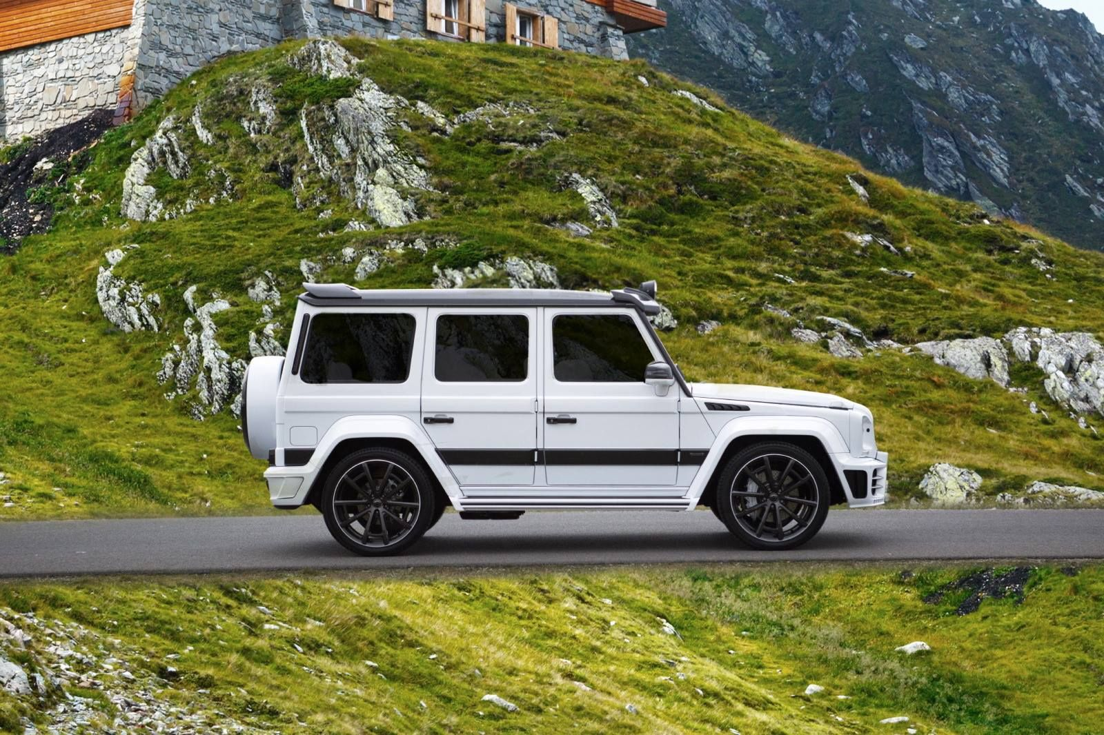 2016 Mercedes Benz G63 Amg Mansory Gronos Facelift With Images