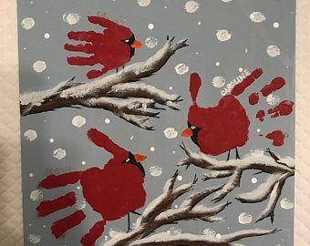 Nativity Template for Hand/Footprint Art - keepsak
