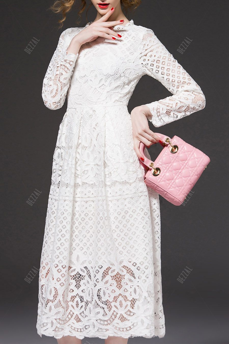 Midi cut out lace dress my baby is getting married ideas