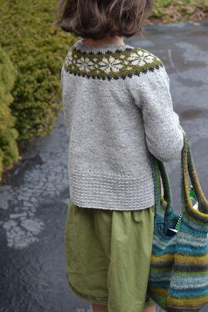 Ravelry: motherbee\'s child\'s Seamless Yoke Sweater | Knitting for ...