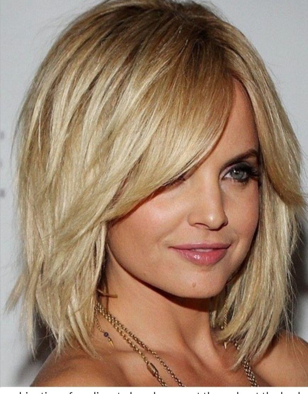 Medium Choppy Uniformly Layered Haircut Womans Cuts Medium In