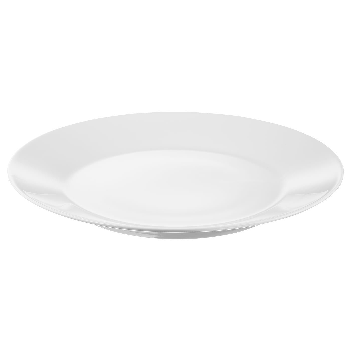 Photo of IKEA 365+ Plate – white – IKEA