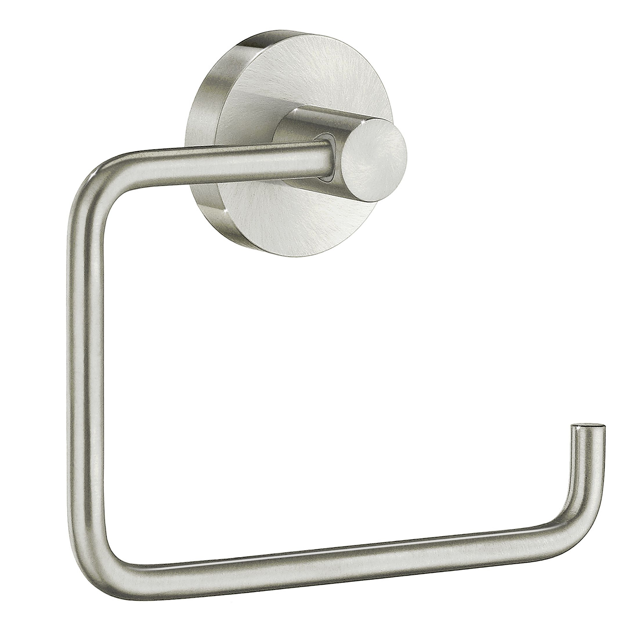 Smedbo Home Collection Brushed Nickel Toilet Paper Holder Recessed Toilet Paper Holder Wall Mounted Toilet Toilet Paper Holder