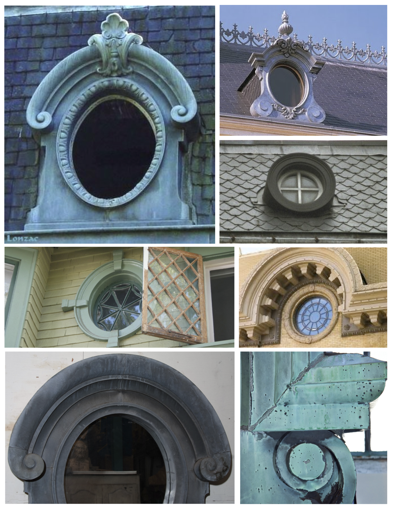Architectural Embellishments Of Elegant Distinction The French Electrical Rough In Wiring Earthship Tire Walls Pictures To Pin On Ornate Round Dormer Collage
