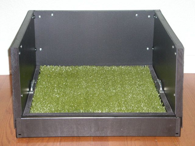 Indoor Dog Potty / Dog Litter Box | Pet Patio Potty™ FAQ U003e INDOORS