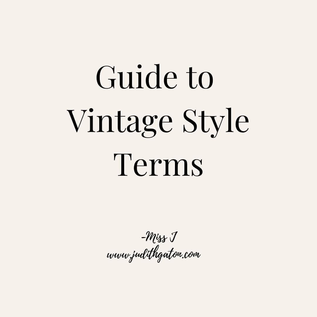 Scroll The Carousel For A Quick Guide To Vintage Terms On This Week S Podcast Episode I Am Teaching Listener In 2020 Life Coach Quotes Vintage Fashion Coach Quotes