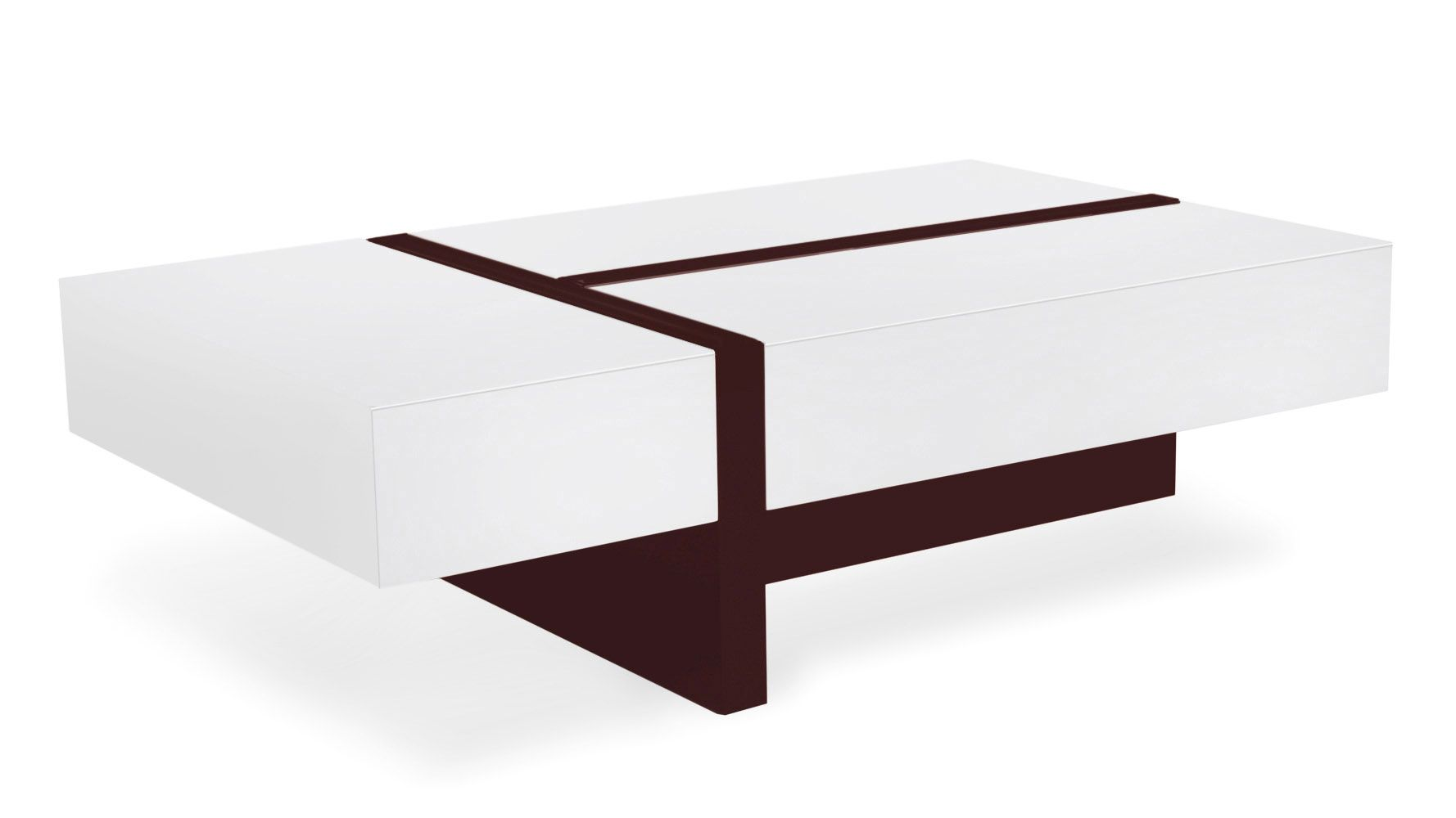 Mcintosh coffee table white rectangle high gloss coffee and mcintosh coffee table white rectangle geotapseo Image collections