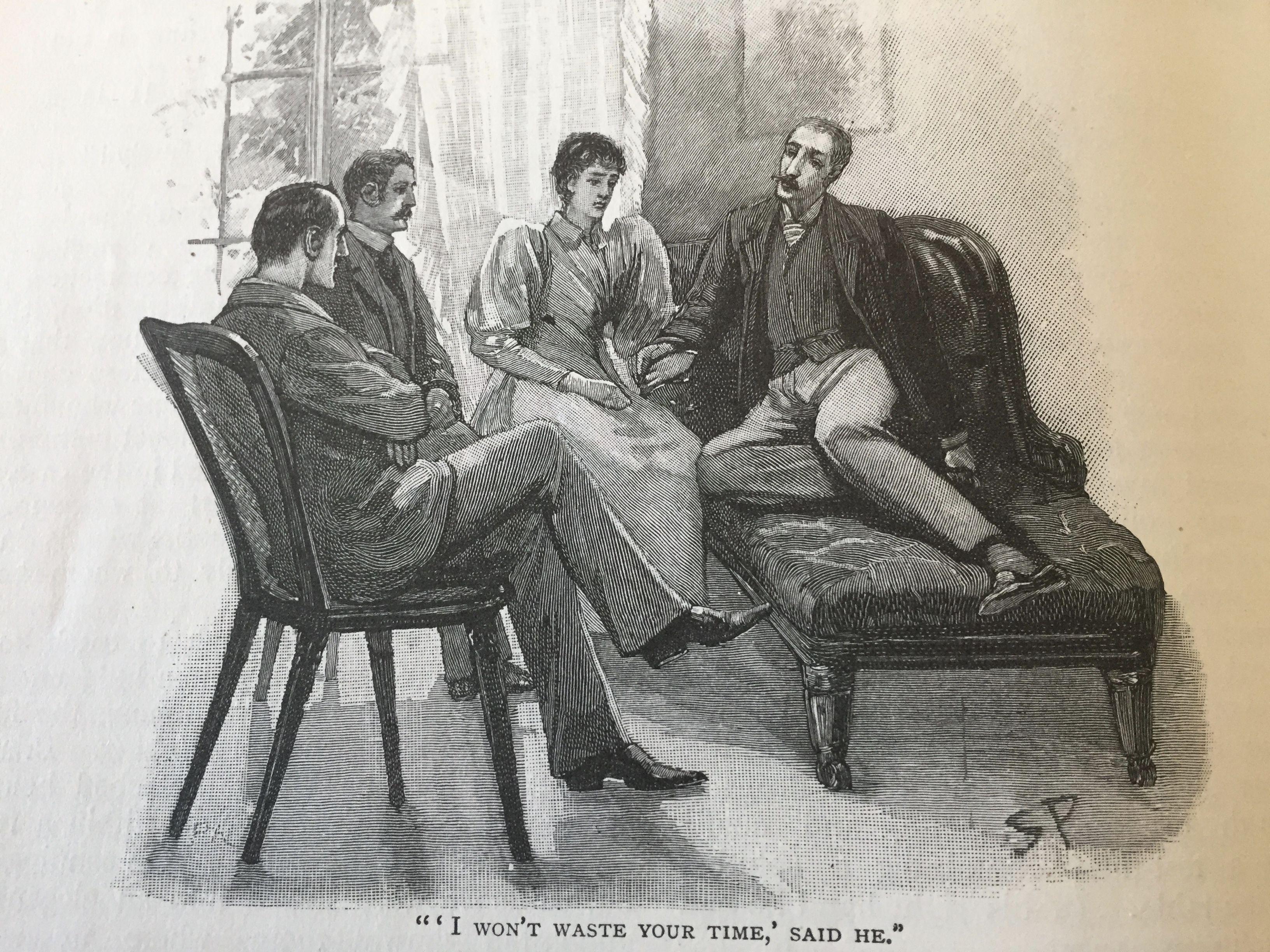 The Naval Treaty Sidney Paget The Strand Magazine