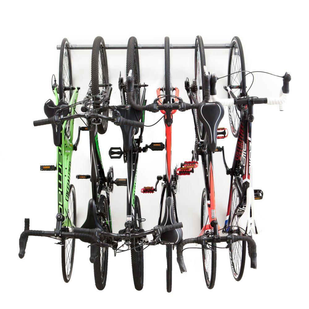 Monkey Bars Bike Storage Rack (Holds 4 Bikes) The Home