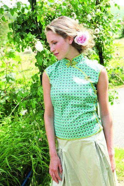 Free Chinese Blouse Pattern Free Top Patterns Pinterest Sewing