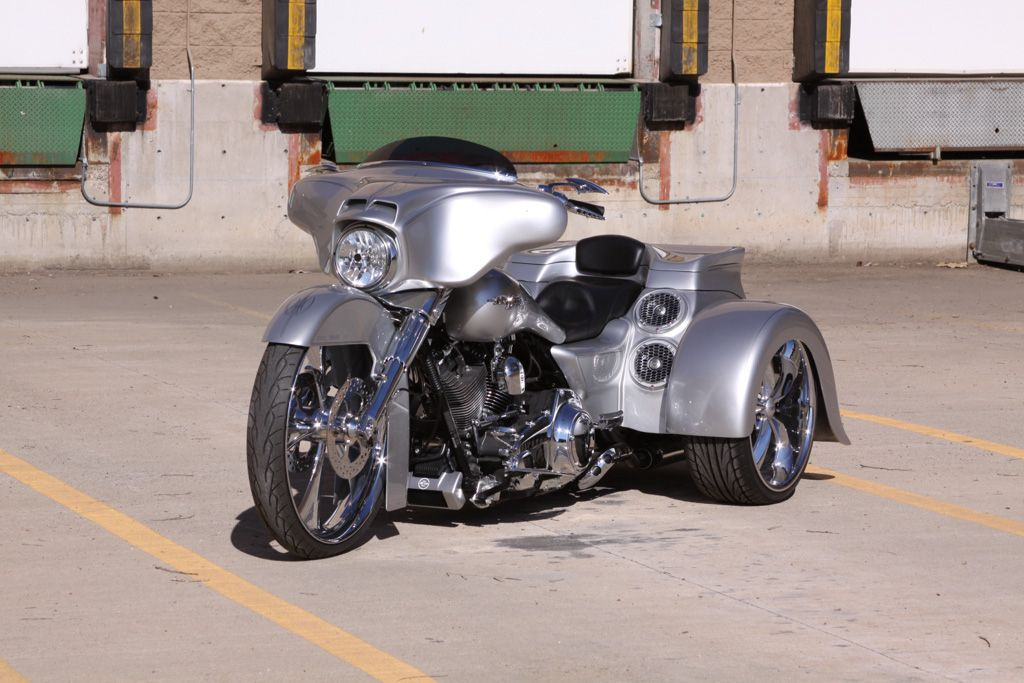 Paul Yaffe Bagger Nation Sound Lab Trike Trikes