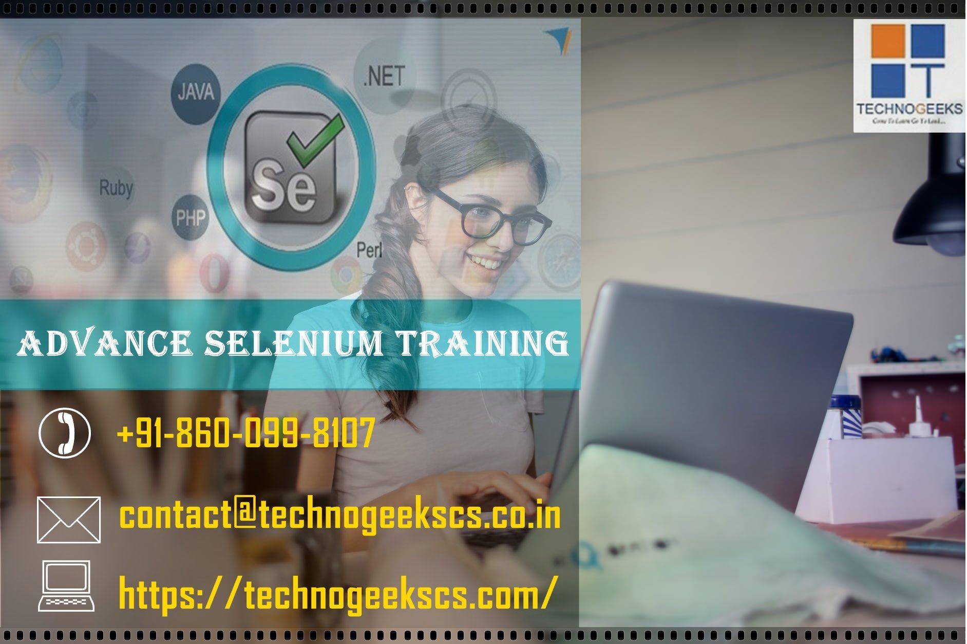 Best Selenium online, classroom Training in Pune India