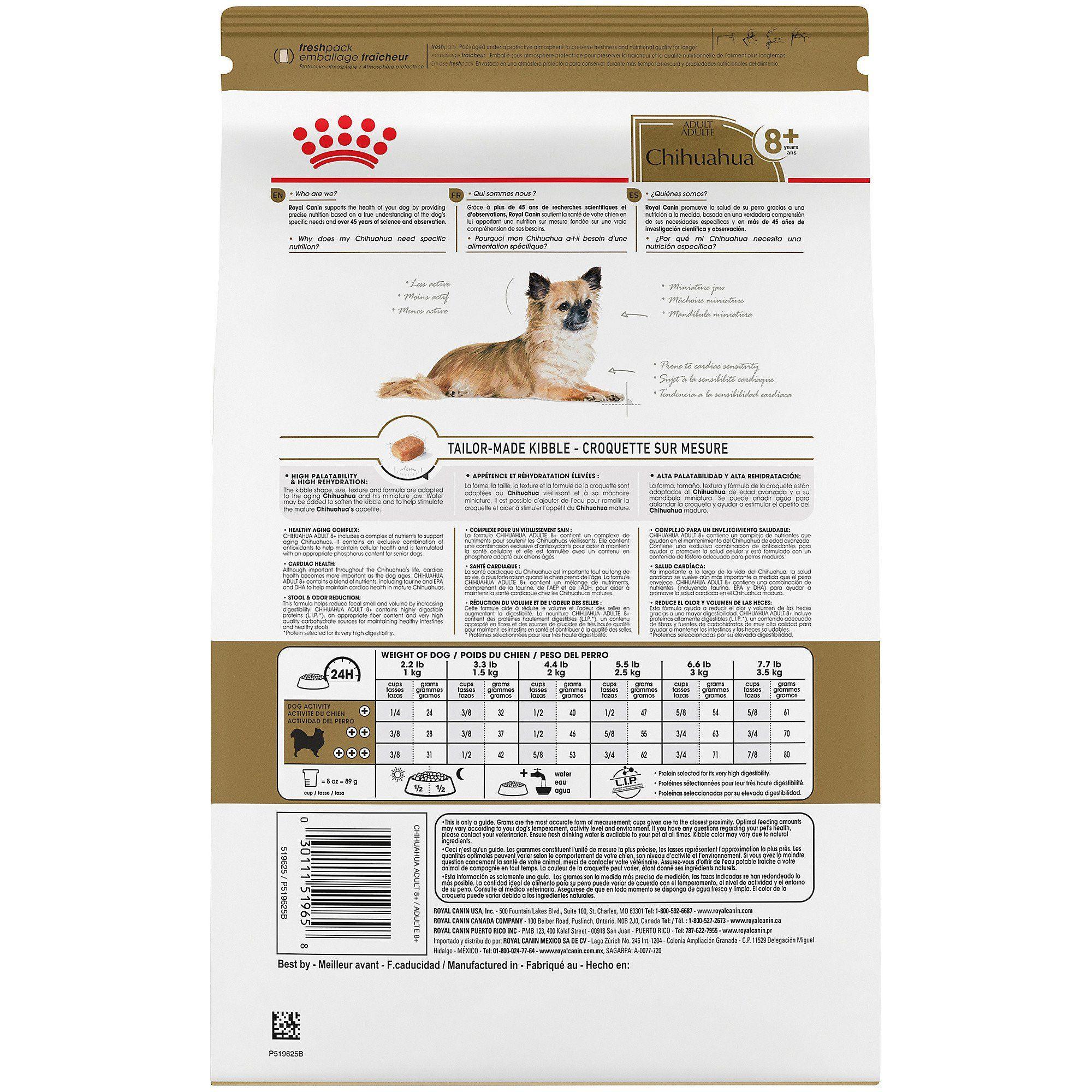 Royal Canin Breed Health Nutrition Chihuahua 8 Dry Dog Food 2 5