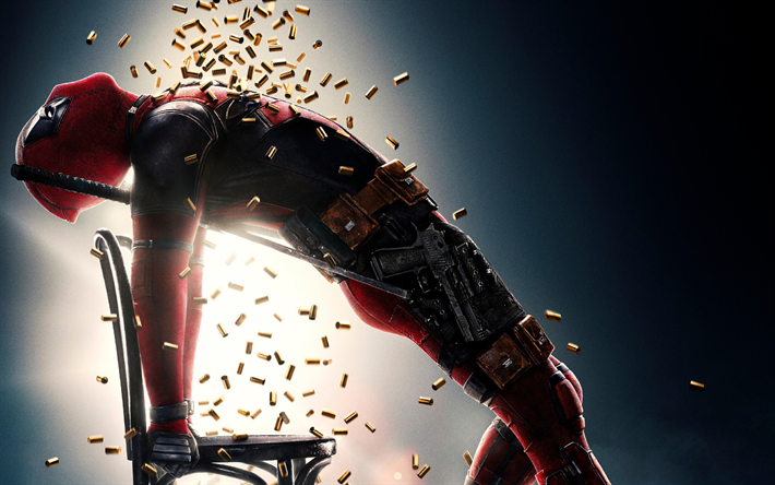 Download Wallpapers Deadpool 2 Superheroes 2018 Movie