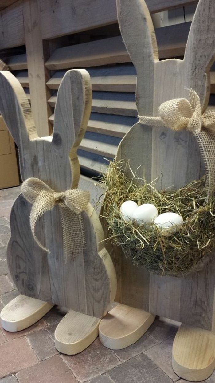Photo of ▷ 1001+ ideas for wooden Easter decorations in the house or garden