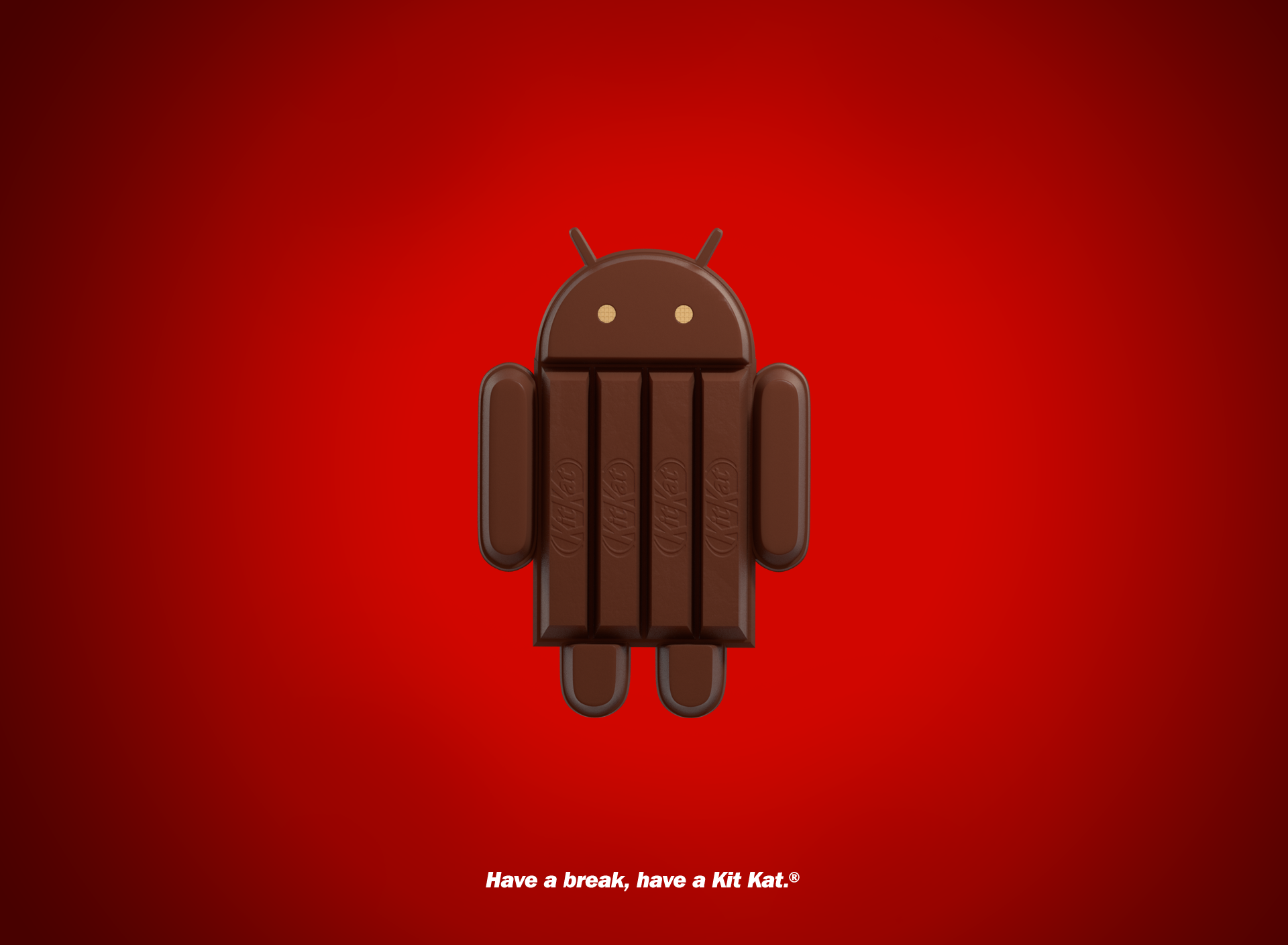 Android Kit Kat Wallpaper Android Kitkat Nestle 4 4 Android Weird And Wonderful Android